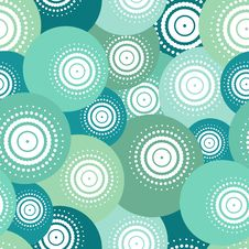 Free Blue Ball Seamless Pattern Stock Images - 36161144