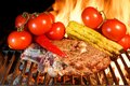 Free Grilled Rib Steak And Vegetables Royalty Free Stock Photography - 36170037