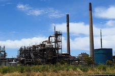 Free Oil Refinery And Heavy Industry Royalty Free Stock Photos - 36170428