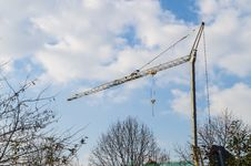 Free Building Cranes Stock Image - 36170561