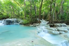 Free Deep Forest Waterfall In Thailand Stock Photography - 36171202