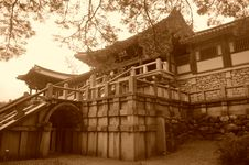 Free South Korean Temple Stock Photos - 36171423
