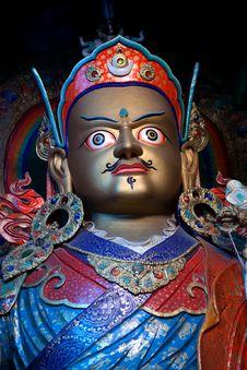 Free Statue Of Guru Padmasabhava At Hemis Gompa, Ladakh Royalty Free Stock Photos - 36172278