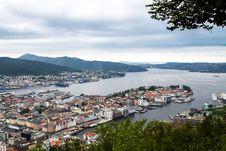 Free View Of Bergen, Norway Stock Photo - 36172950