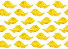 Lemon Pattern Stock Photography