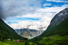 Free View To Sognefjord In Norway Stock Images - 36173554