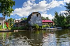 Free Old Russian Wooden House Stock Photography - 36175702