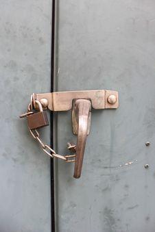 Free Steel Cabinet Locks Stock Photos - 36176283