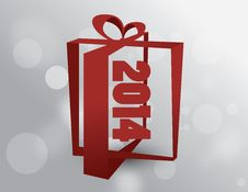 Free Happy New Year 2014 Royalty Free Stock Photography - 36176597