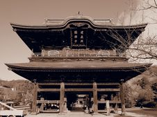 Free Sepia Temple Stock Image - 36176681