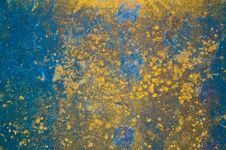 Free The Rusty Metal Plate As Background Royalty Free Stock Photos - 36177328
