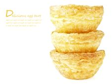 Free Space Of Eggtart Royalty Free Stock Photography - 36177797