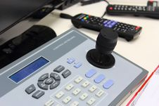 Main A Camera Control. Stock Images