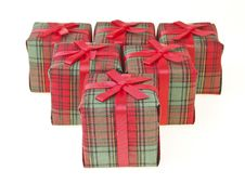 Free Red Box Series Stock Image - 36177971