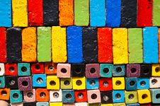 Free The Colorful Pottery As Modern Design Stock Images - 36178194