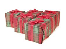 Free Red Gift Set Royalty Free Stock Photos - 36178198