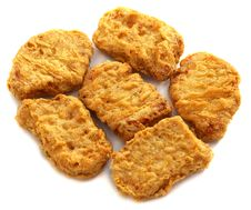 Free Chicken Nuggets Stock Images - 36179414