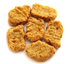Free Chicken Nuggets Royalty Free Stock Photos - 36179428
