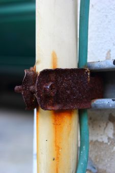 Free Rusty Lock Pipes. Royalty Free Stock Image - 36179856