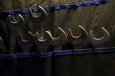 Free Screw Keys Royalty Free Stock Photo - 36180835