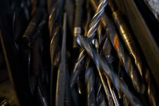 Free Drill Bits Royalty Free Stock Photos - 36181608