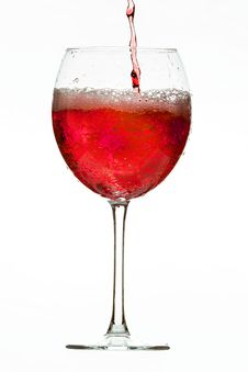 Free Wine Glass Royalty Free Stock Image - 36183616