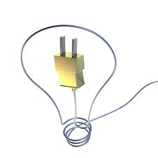 Free Electricity And Lighting Concept Illustration Royalty Free Stock Images - 36184669