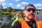Free Kayaking In The Karelia Royalty Free Stock Image - 36180146