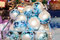 Free Christmas New Year Balls Decor Royalty Free Stock Images - 36185209