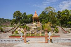 Free Cambodian Temple Near Sihanukville Naval Base Stock Photo - 36190370