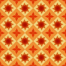 Seamless Ornamental Tile Background Stock Photos