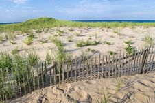 Free Sand Dunes Nobska Beach Stock Photos - 36196683