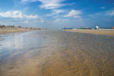 Free Tidewater Nobska Beach Royalty Free Stock Image - 36196686