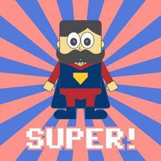Free Hero Kid Cartoon Stock Photos - 36198673