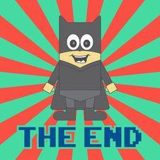 Free Hero Kid Cartoon Royalty Free Stock Photography - 36198807