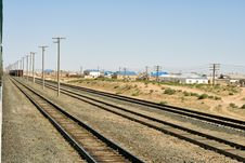 Free Railway Siding. Royalty Free Stock Photos - 36199908