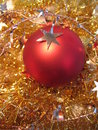 Free Red Christmas Ball With Golden Star Royalty Free Stock Image - 3621846