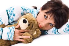 Free Exciting Look Of Charming Brunette Stock Photos - 3620013