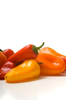 Free Fresh Sweet Peppers Royalty Free Stock Photos - 3620078