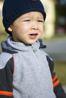 Free Cute Baby Boy Jogger Royalty Free Stock Photo - 3620995