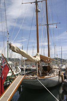 Free Sailing Ship In Harbor Royalty Free Stock Photos - 3621698