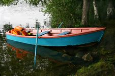 Free Landscape With A Boat. Royalty Free Stock Images - 3621699