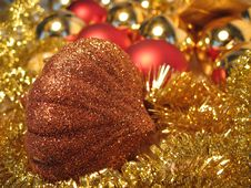 Free Bronze Christmas Toy Royalty Free Stock Images - 3621939