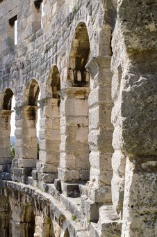 Free Amphitheatre In Croatia, Pula Royalty Free Stock Photos - 3622088