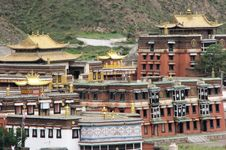 Free Tibetan Temple Royalty Free Stock Image - 3622256