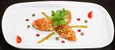 Free Salmon Tartar Stock Photography - 3622572