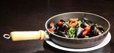 Mussel Stew Royalty Free Stock Photo