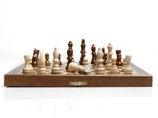 Free Chess Beating The King Royalty Free Stock Photography - 3622577