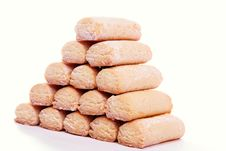 Cookie Pyramid Royalty Free Stock Photo