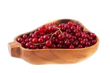 Bowl Of Red Currant. Royalty Free Stock Photography